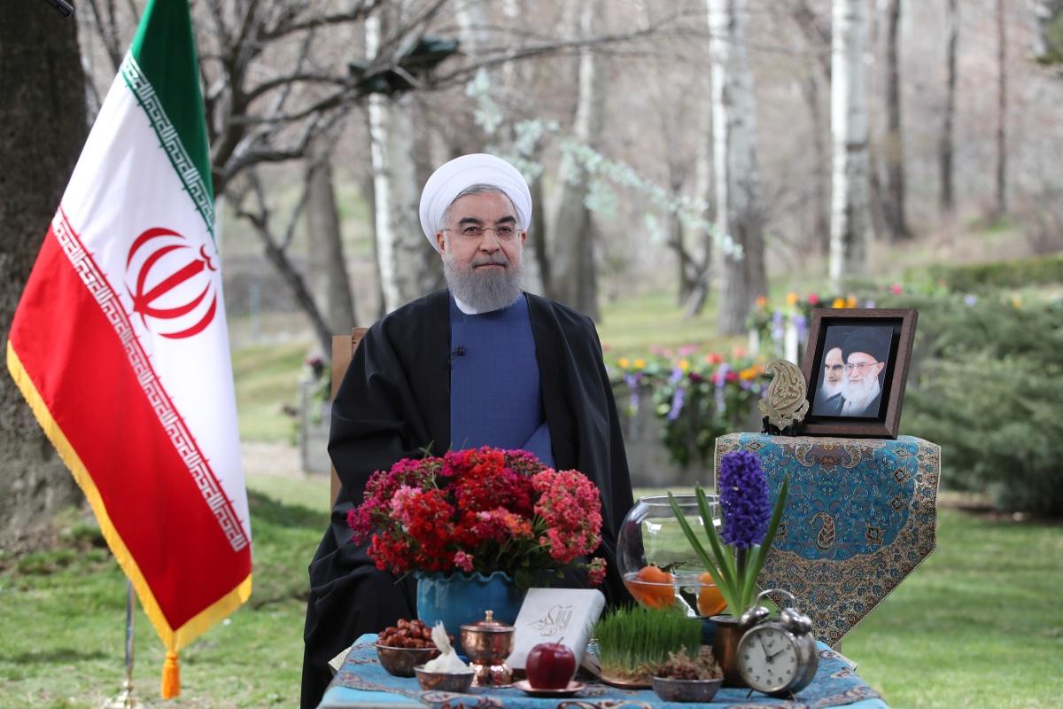 پیام نوروزی سال ۱۳۹۶ رئیس جمهوری
