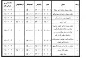 جدول هزینههای دادرسی