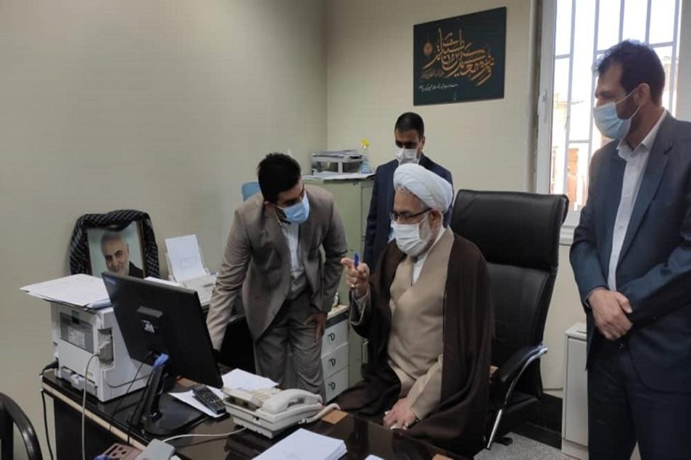 دادستان کل کشور از دادسرای خرم آباد بازدید کرد