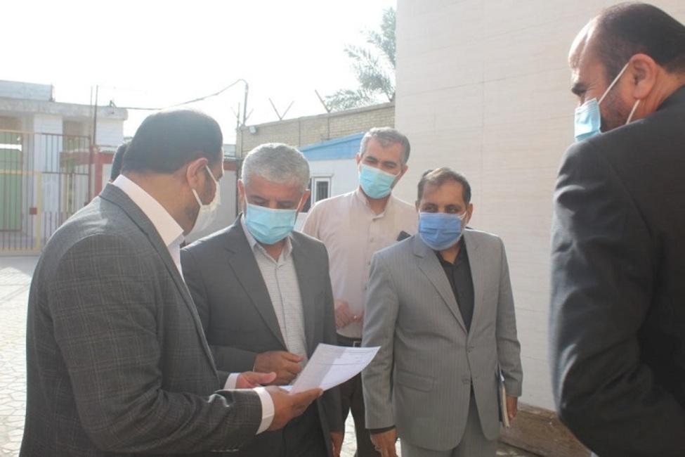 بازدید سرزده رییس کل دادگستری استان بوشهر از زندان شهرستان دشتی