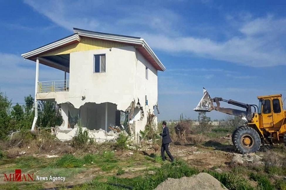 رفع تصرف بیش از ۱۲۴ هکتار اراضی ملی و دولتی شهرستان رودبارجنوب