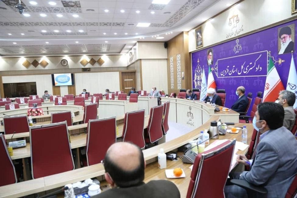دومین نشست ستاد پیشگیری و رسیدگی به جرائم انتخاباتی استان قزوین برگزار شد