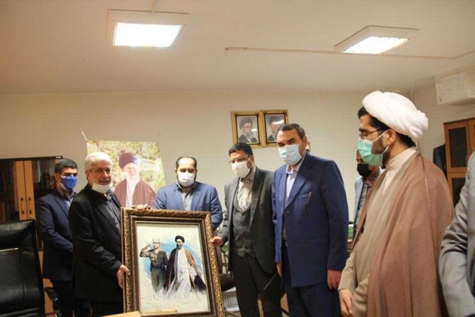 برگزاری آئین نامگذاری مجتمعها و پایگاههای بسیج شورای حل اختلاف استان تهران به نام مبارک شهدا