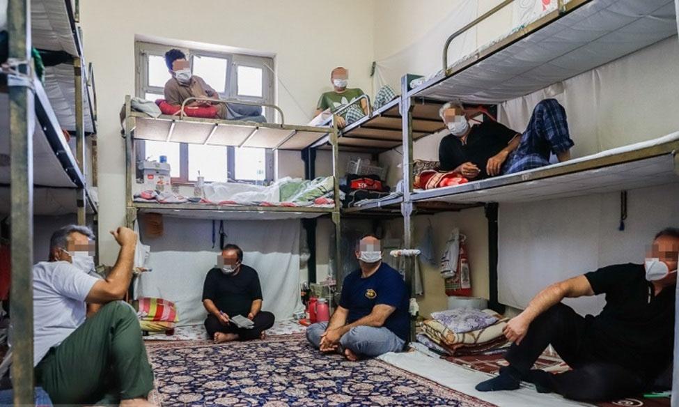 بازدید رییس و قضات دادگستری شهرستان انار از زندان رفسنجان