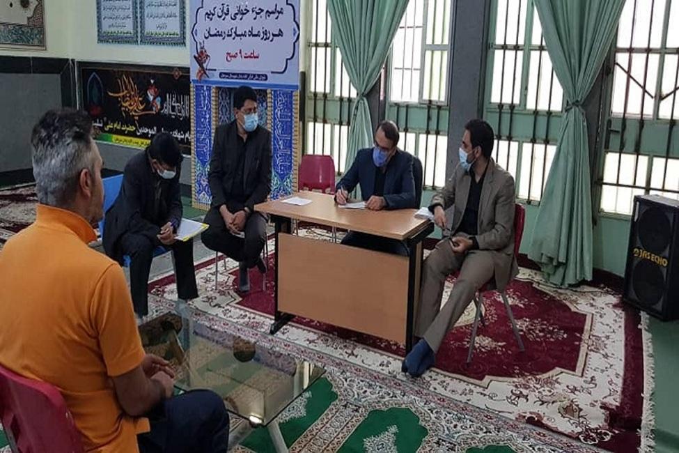 نشست صمیمی دادستان و دادیار ناظر زندان با مددجویان زندان سیرجان