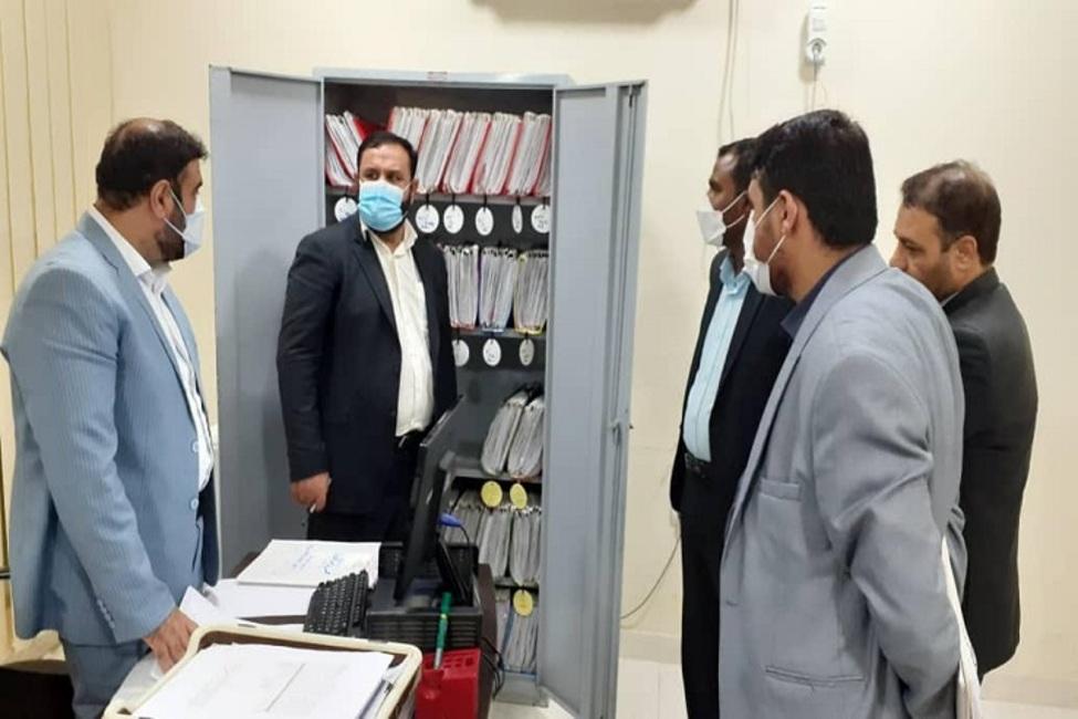 بازدید رئیس کل دادگستری استان هرمزگان از حوزه قضایی شهرستان سیریک