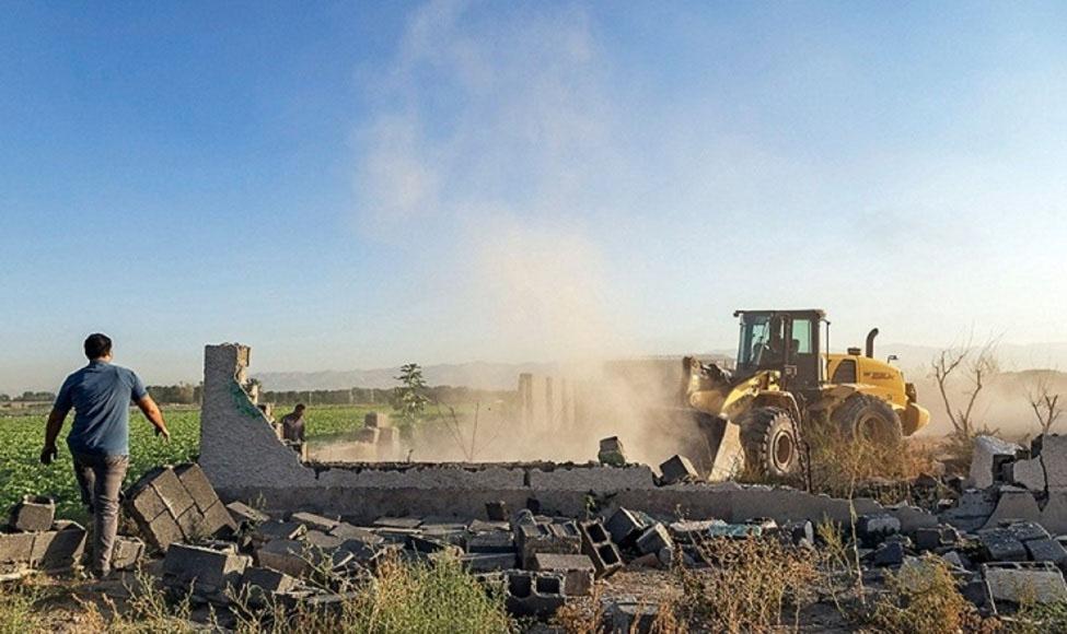 رفع تصرف بیش از ۳۱ هزار مترمربع از اراضی ملی شهرستان سوادکوه