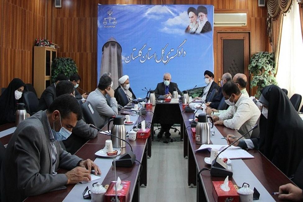 پاسخگویی به درخواستهای حقوقی مراجعان توسط رئیس شورای حل اختلاف گلستان