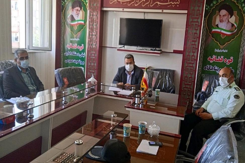 برگزاری جلسه در خصوص جلوگیری از سرقت تجهیزات شبکه توزیع برق در حوزه قضایی صوفیان