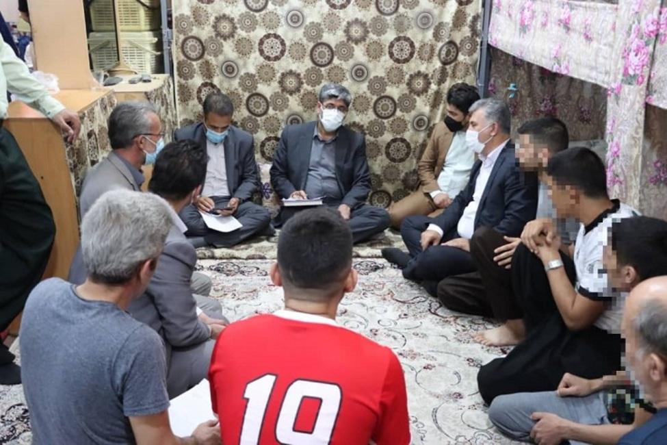 رییس کل دادگستری آذربایجان غربی از زندان مرکزی ارومیه بازدید کرد