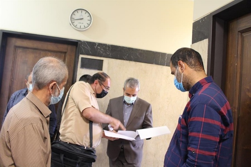 بازدید از پیش اعلام نشده رئیس کل محاکم از مجتمع قضایی شهید مدرس