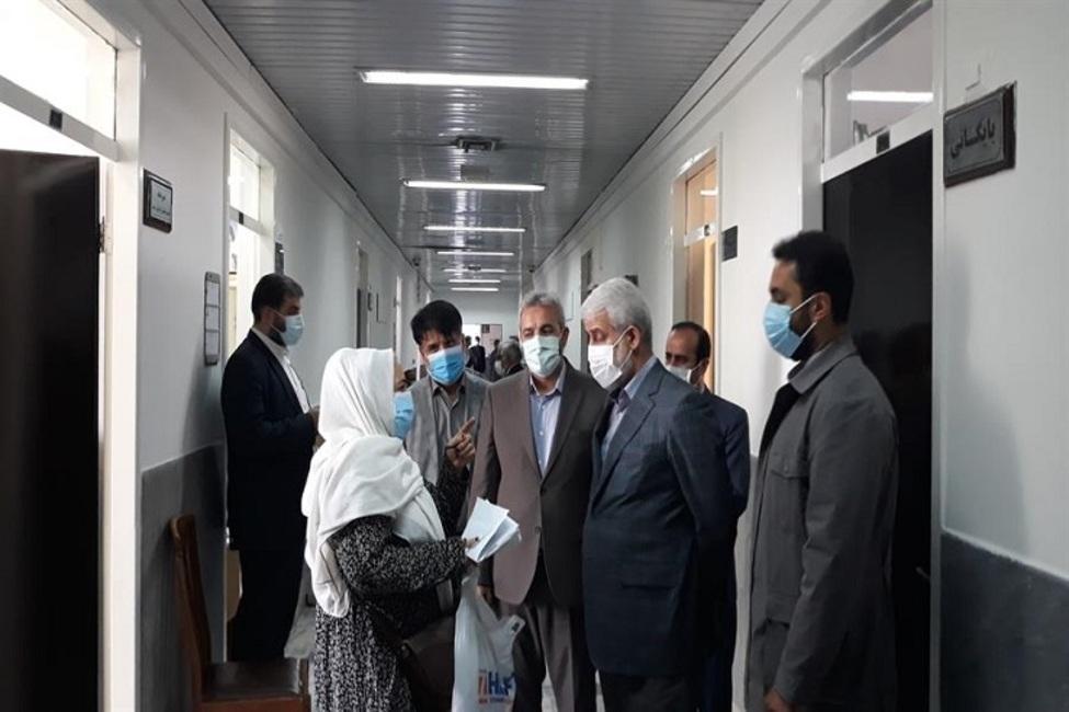 بازدید از پیش اعلام نشده رئیس کل دادگستری استان تهران از ستاد محاکم و مجتمع قضایی کارکنان دولت