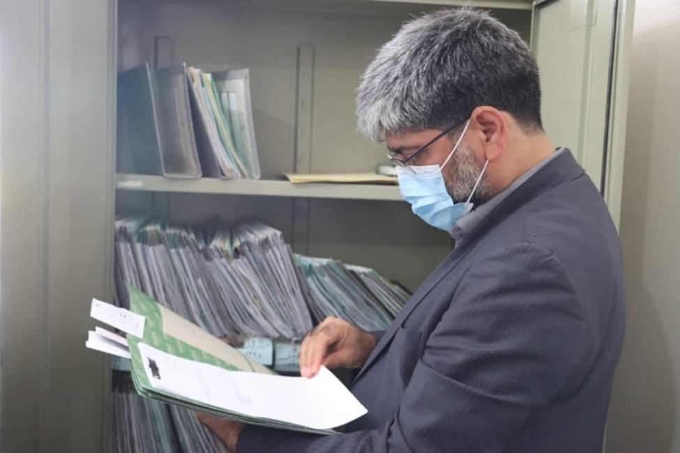 بازدید رئیس کل دادگستری آذربایجان غربی از حوزه قضایی بوکان