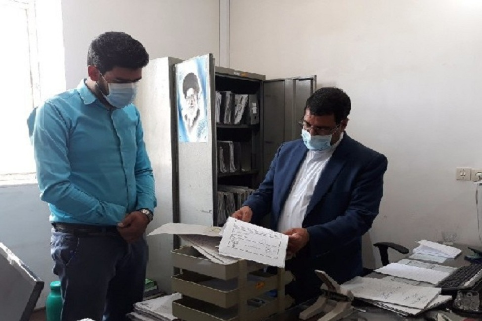 بازدید رئیس کل دادگستری کرمان از حوزه قضایی شهداد و گلباف
