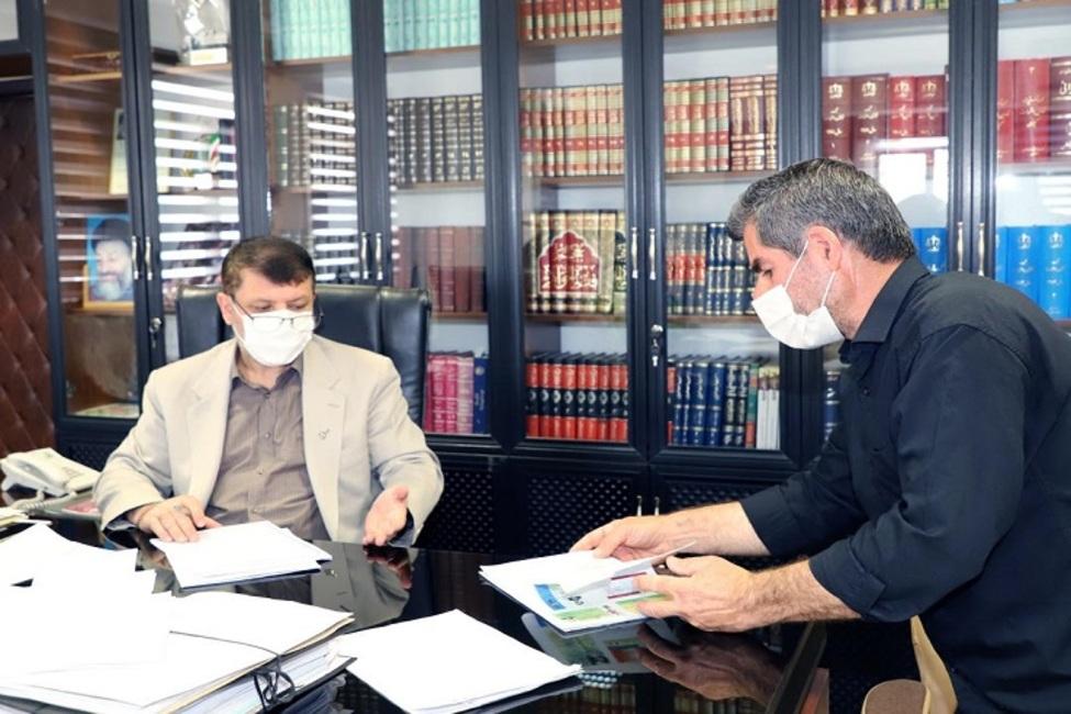 رسیدگی به مشکلات قضایی ۵۲ نفر از مراجعان توسط رئیس کل دادگستری آذربایجان شرقی