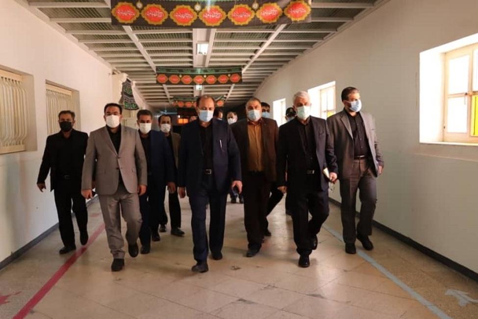 بازدید رئیس کل دادگستری تهران از ندامتگاه تهران بزرگ