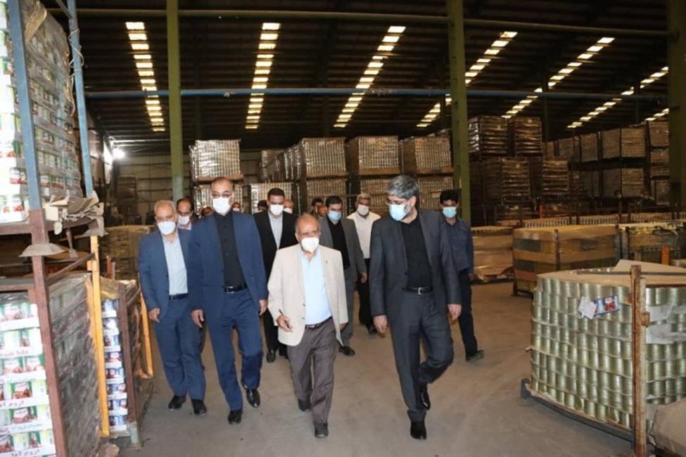 بازدید رئیس کل دادگستری آذربایجان غربی از ۳ واحد تولیدی