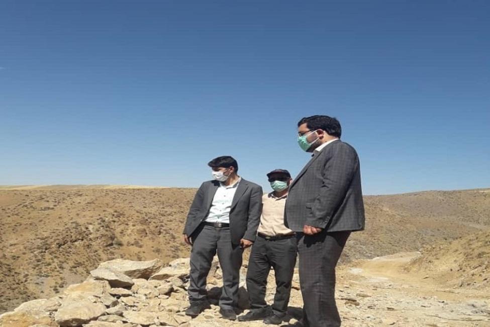بازدید دادستان هریس از محدوده اکتشافی معدن اندیس
