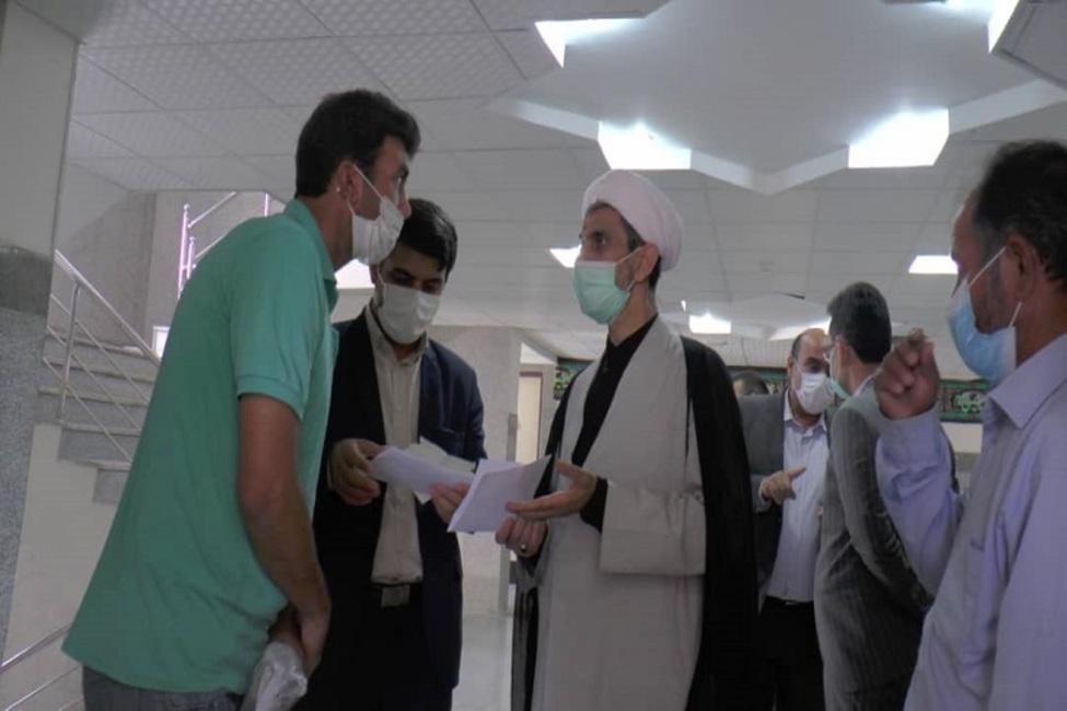 بازدید رئیس کل دادگستری خراسان شمالی از حوزههای قضایی گرمه و جاجرم