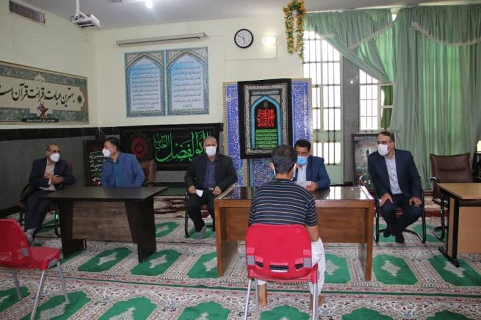 بازدید رئیس کل دادگستری استان کرمان از زندان سیرجان