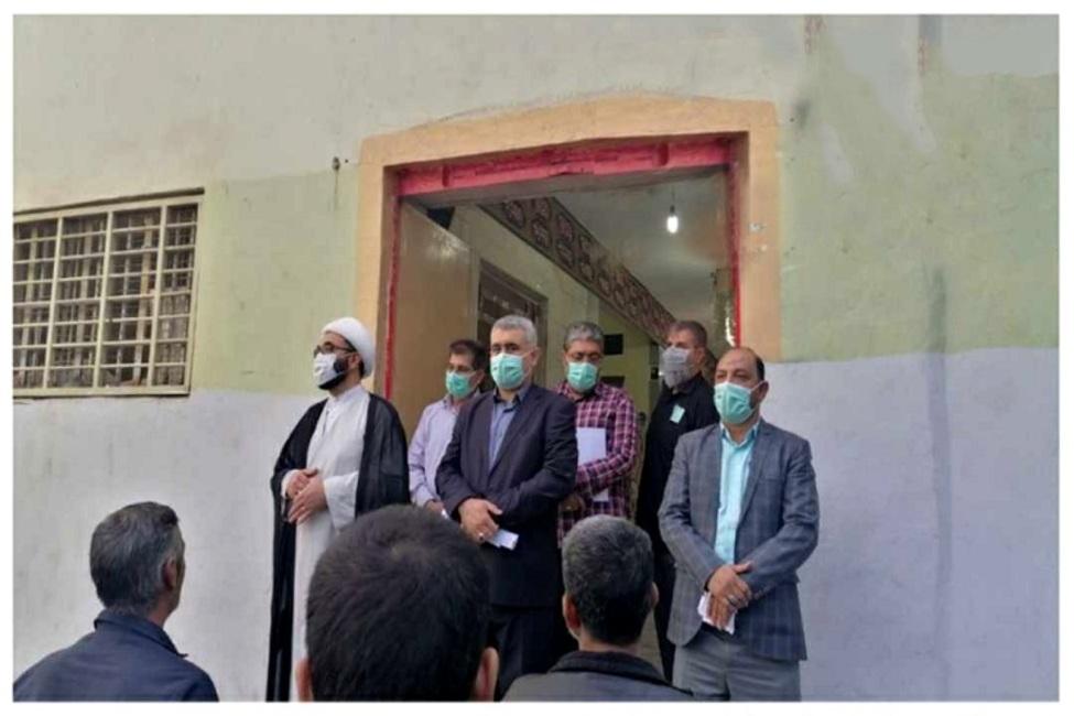 رسیدگی به درخواستهای زندانیان در جریان بازدید دادستان زرند از زندان این شهرستان