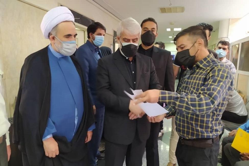 بازدید از پیش اعلام نشده رئیس کل دادگستری استان تهران از دادگستری اسلامشهر