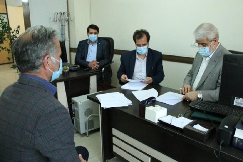 رسیدگی به مشکلات ۱۰۰ نفر از مراجعان در جریان ملاقات مردمی رئیس کل دادگستری تهران