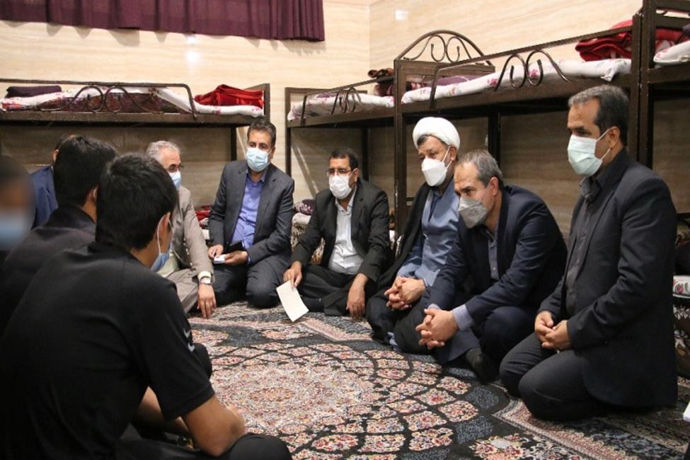 بازدید رئیس کل دادگستری کرمان از کانون اصلاح و تربیت استان