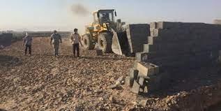 آزادسازی ۵ هزار متر مربع از اراضی زراعی در شهریار با ورود دادستانی/ تالار پذیرایی غیرمجاز تخریب شد