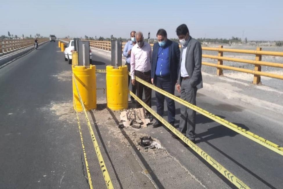 ورود دادستان جیرفت کرمان به موضوع ریزش بخشی از پل دوم هلیل