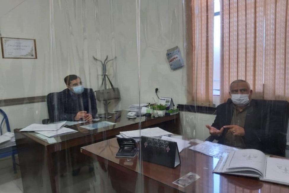 بازدید معاون قضایی دادگستری کل استان کرمان از شوراهای حل اختلاف بافت