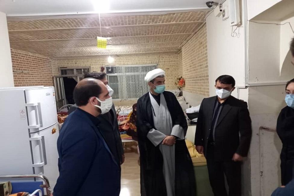 بازدید رئیس کل دادگستری خراسان شمالی از یک مرکز توانبخشی و نگهداری سالمندان