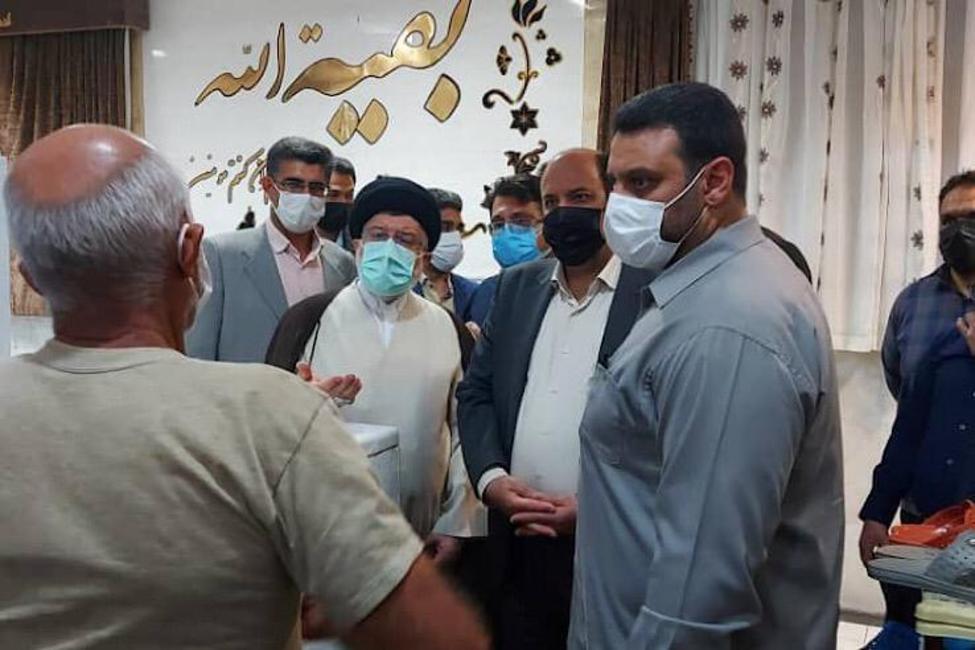 بازدید رئیس کل دادگستری استان فارس از زندان شهرستان جهرم