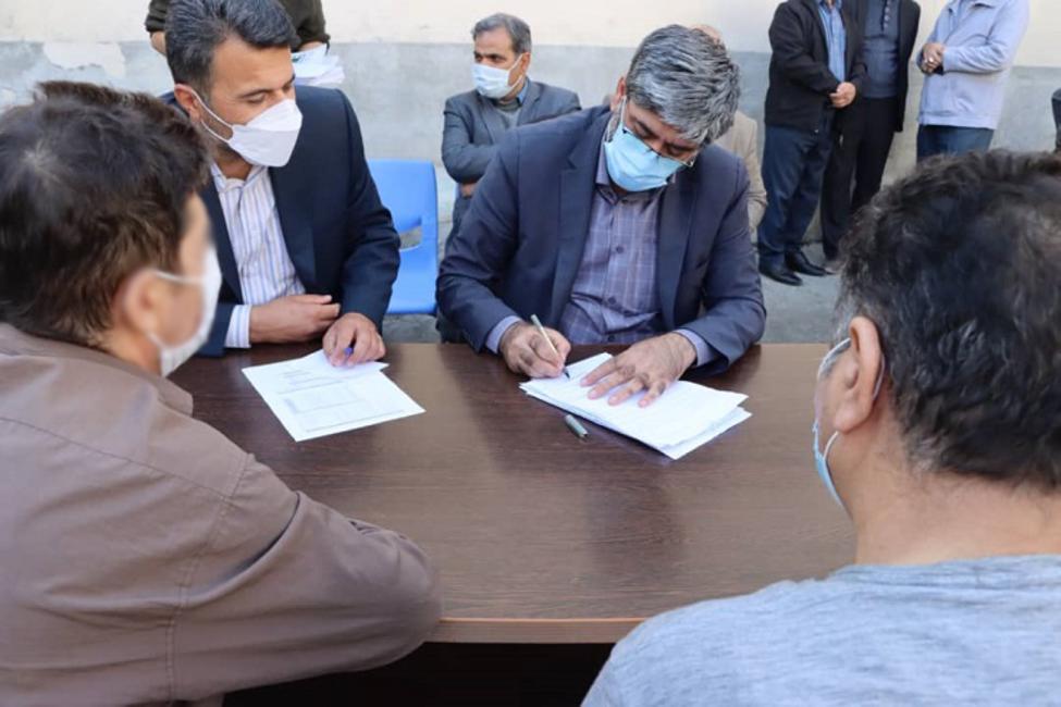 بازدید رئیس کل دادگستری آذربایجان غربی از زندان سلماس