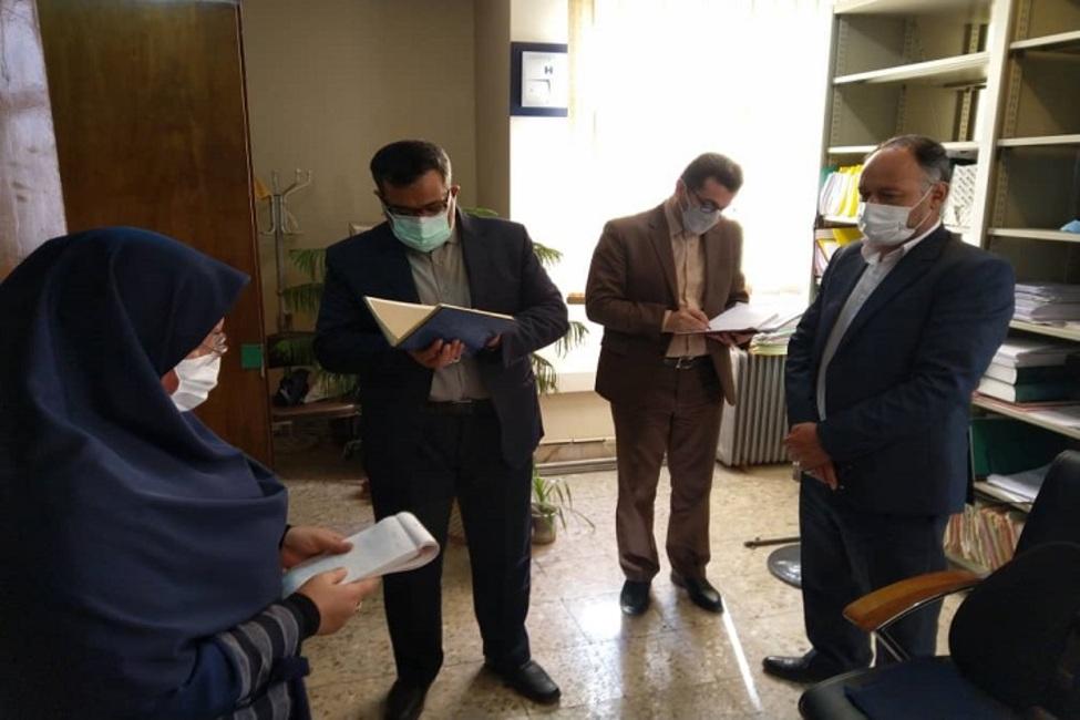 بازدید معاون امور اسناد سازمان ثبت اسناد کشور از چند واحد ثبتی استان تهران