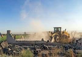آزادسازی ۷ هکتار از اراضی زراعی و باغی و بستر رودخانه در جنوب مشهد مقدس